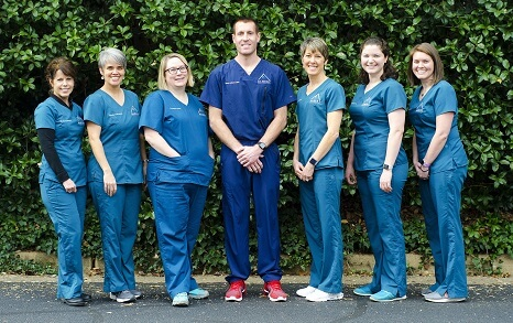 The friendly Albert Family Dentistry team